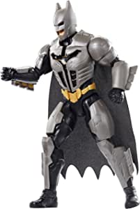 Mattel FYY22 DC Batman Deluxe Figur mit Geräuschen 30 cm