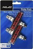 XLC Unisex– Erwachsene Bremsschuhe V-Brake Bs-v01 4er Set 70 Mm