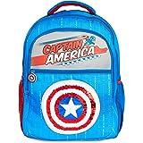 Marvel Mochilas Escolares Con Escudo Capitan America, Mochila Escolar Con Diseño de Lentejuelas, Mochila Infantil Para Colegi