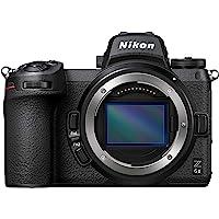 Nikon Z 6II Spiegellose Vollformat-Kamera (24,5 MP, 14 Bilder pro Sekunde, Hybrid-AF, 2 EXPEED-Prozessoren, doppeltes…
