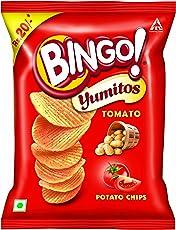 Bingo Yumitos Tomato Potato Chips ,52g