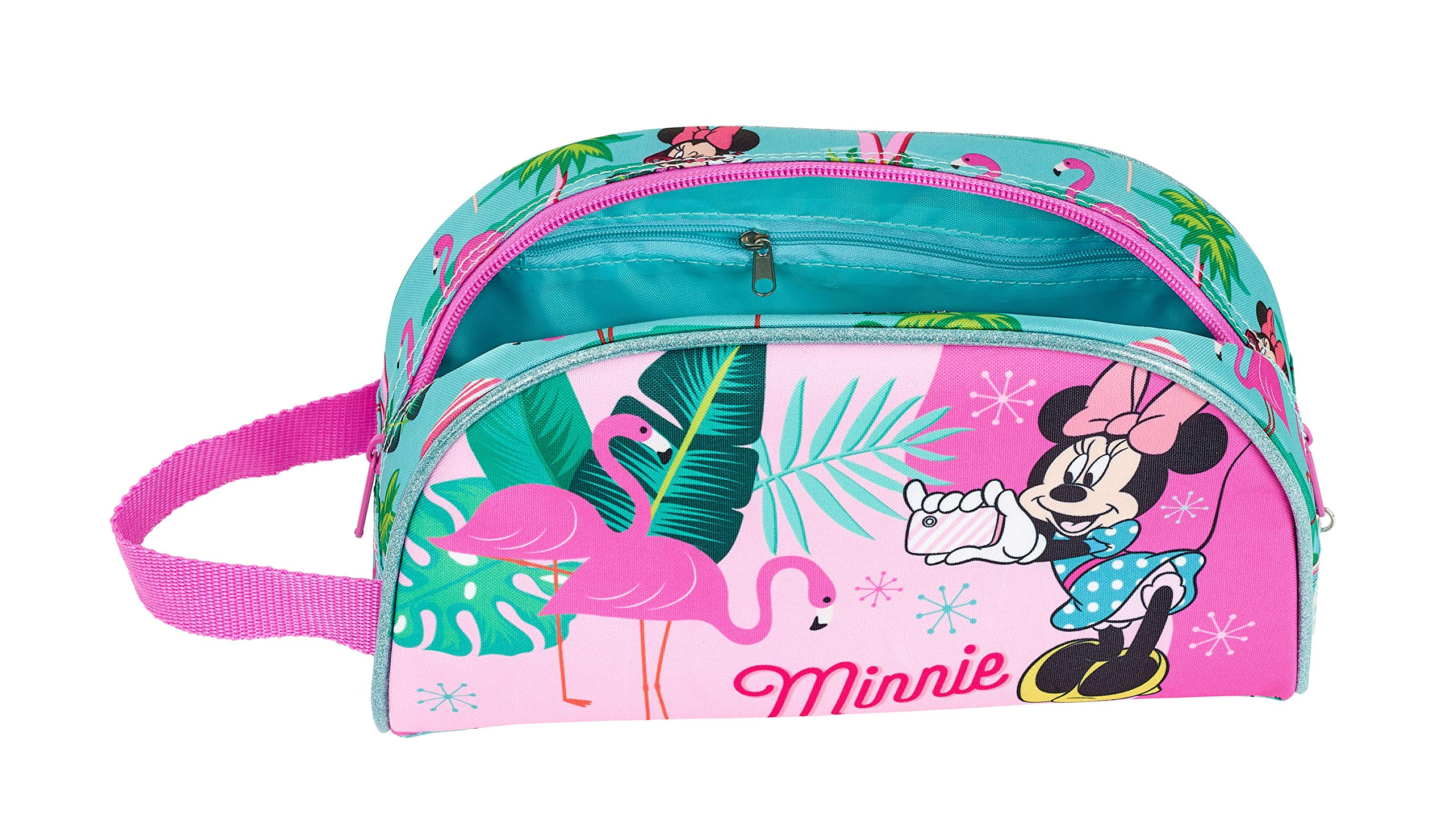 Minnie Mouse «Palms» Oficial Neceser Grande, 260x160x90mm