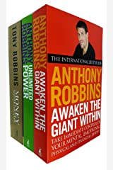 Tony Robins 3 Books Collection Set (Awaken The Giant Within, Unlimited Power: The New Science of Personal Achievement & Money Master the Game) Paperback