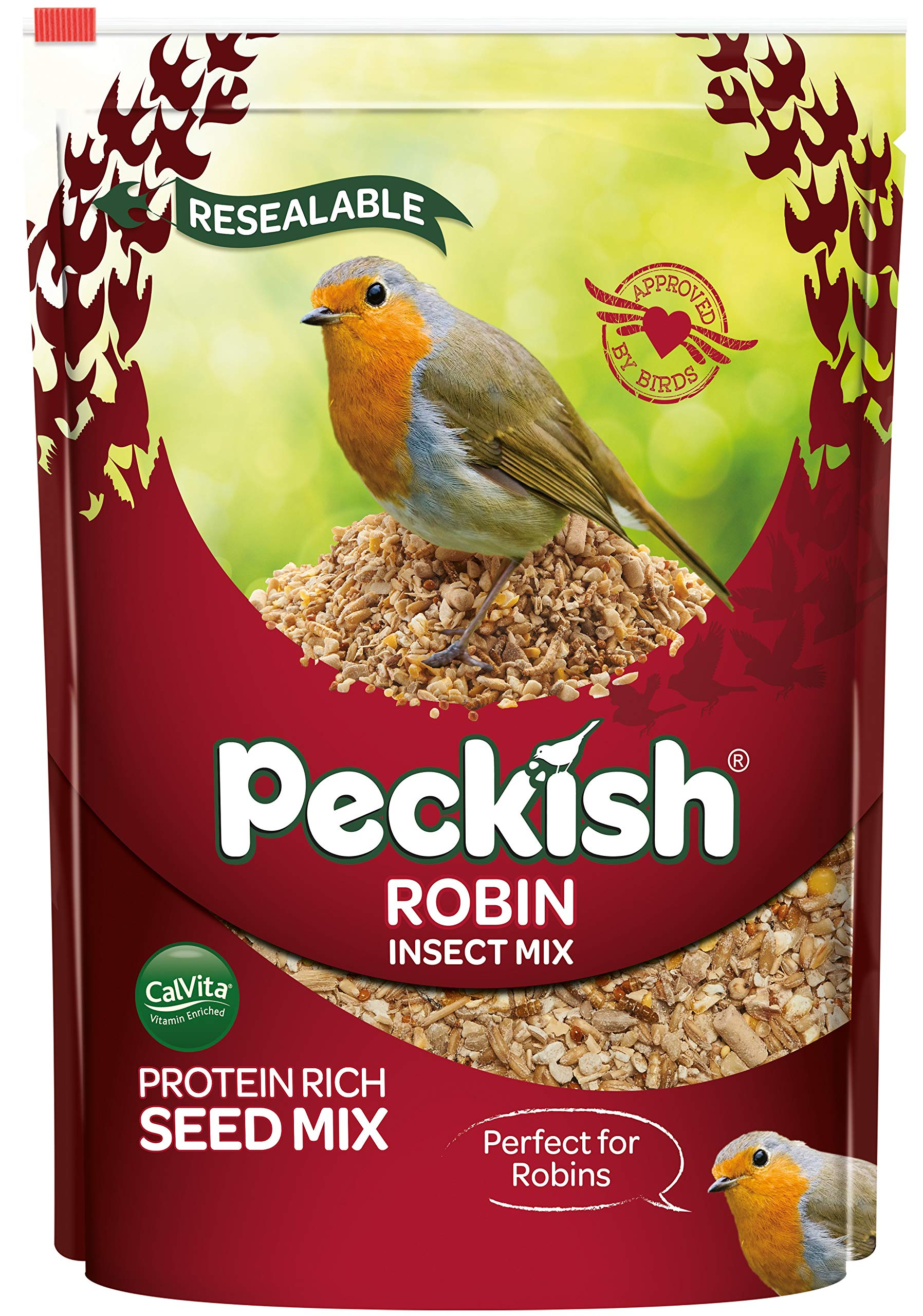 Peckish Robin Bird Seed and Insect Mix
