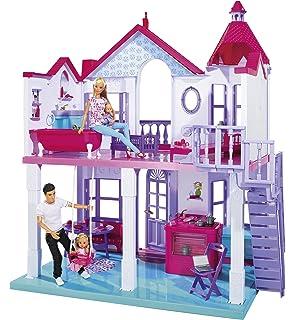 BWare Barbie fxg57 Malibu maison maison de poupée 60 cm Large 25 accessoires jouets