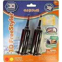 3D Maker – 3D Freestyler – Recharge 2 Tubes – Rouge & Jaune