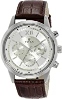 Titan Neo Analog Champagne Dial Men's Watch - 1766SL01