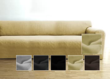 Elastic couch cover by Ambivelle bielastic stretch cover sofa