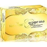 Herbal Tree 24 Carat Gold Facial kit For Anti-Ageing & Lustrous Glow (420 g)