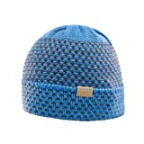 Salomon Damen Beanie Laura, Blau (Myconos Blue/Night Sky), One Size