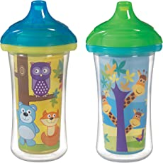 Munchkin 9 ounce Click Lock Insulated Sippy Cup (2 Count)