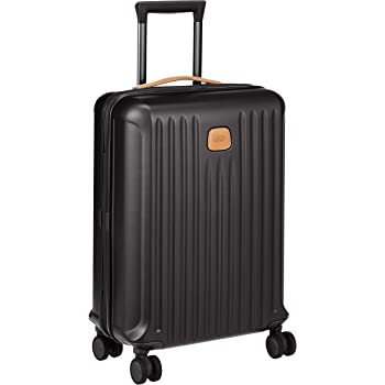 c1359c56390a Brics Capri 4-Wheels Trolley black 55 cm  Amazon.co.uk  Luggage