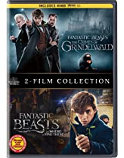 Fantastic Beasts 2 Movies Collection - Fantastic Beasts & Where to Find Them + Fantastic Beasts: The Crimes of Grindelwald (2-Disc)