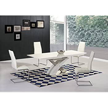 65fcf4f64ff Mayfair XO Extending Dining Table - Contemporary Design - Stylish -  Interior Decor - Dine in Style - Italian Dining