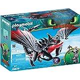 Playmobil Dragons Agrippemort et Grimmel, 70039
