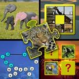 Kinder Tier Puzzle und Memory-Geschicklichkeitsspiele - lehrt junge Kinder die Buchstaben des Alphabets zählen und Jigsaw Formen geeignet für Vorschule Kindergarten und up
