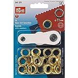 Prym 541,371 - Ringen en schijven 11mm goud - 15st