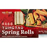 Tiger Tiger Tsingtao Spring Rolls with Vegetable, 750g (Frozen)