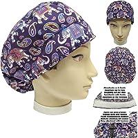 Cappello sala operatoria donna ELEFANTI per Capelli Lunghi Asciugamano assorbente sulla fronte facilmente regolabile…