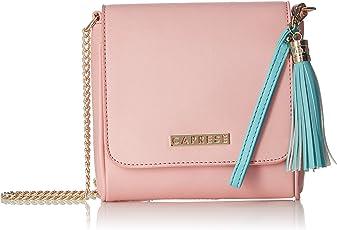 Caprese Shally Women's Sling Bag (Pink)