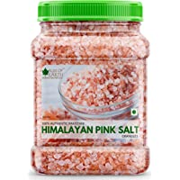 Bliss of Earth 1KG Granular Pakistani Himalayan Pink Salt Non Iodized for Weight Loss & Healthy Cooking, Natural…