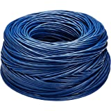 Amazon Basics - Bobina di cavo ethernet Cat6, (23AWG, UTP), 304,8 metri, Blu