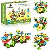 Desire Deluxe Jouets pour Filles Enfants de 3 Ans Jouet de Construction de Jardin à Fleurs Jeu de Construction pour Bébé, Enf