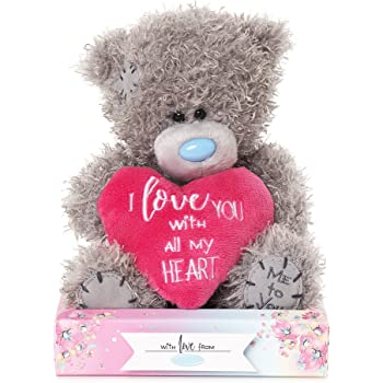 me to you i love you heart tatty teddy bear carte blanche amazon