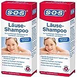 SOS Läuse-Shampoo, zuverlässige Befreiung von Kopfläusen und Nissen, besonders hautverträgliches Läuse Shampoo mit…