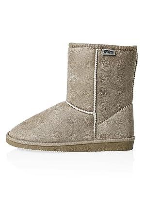 Hailys Stiefel Stiefeletten Boots Damen Schlupfstiefel q54jL3AR