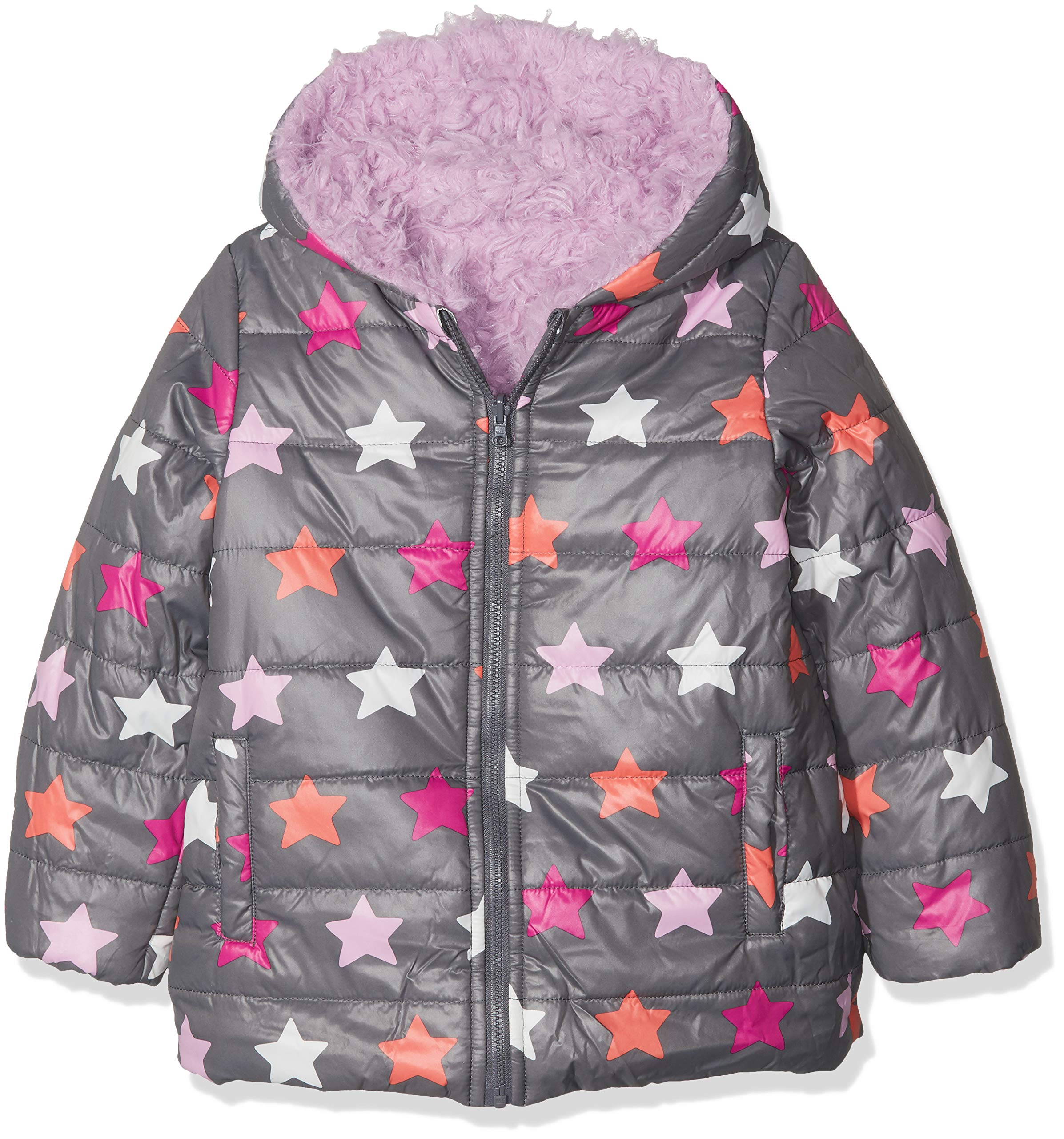 boboli Reversible Technical Fabric Parka For Baby Girl Abrigo para Bebés 2