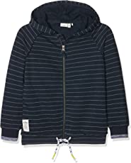 NAME IT Jungen Sweatjacke Nkmkelvin Unb SWE Card W. Hood