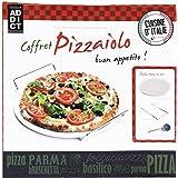 Totally Addict Pizza Stone Set, Alluminio