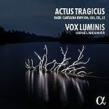 Actus Tragicus/Cantates de Bach Bwv 106/150/131/12