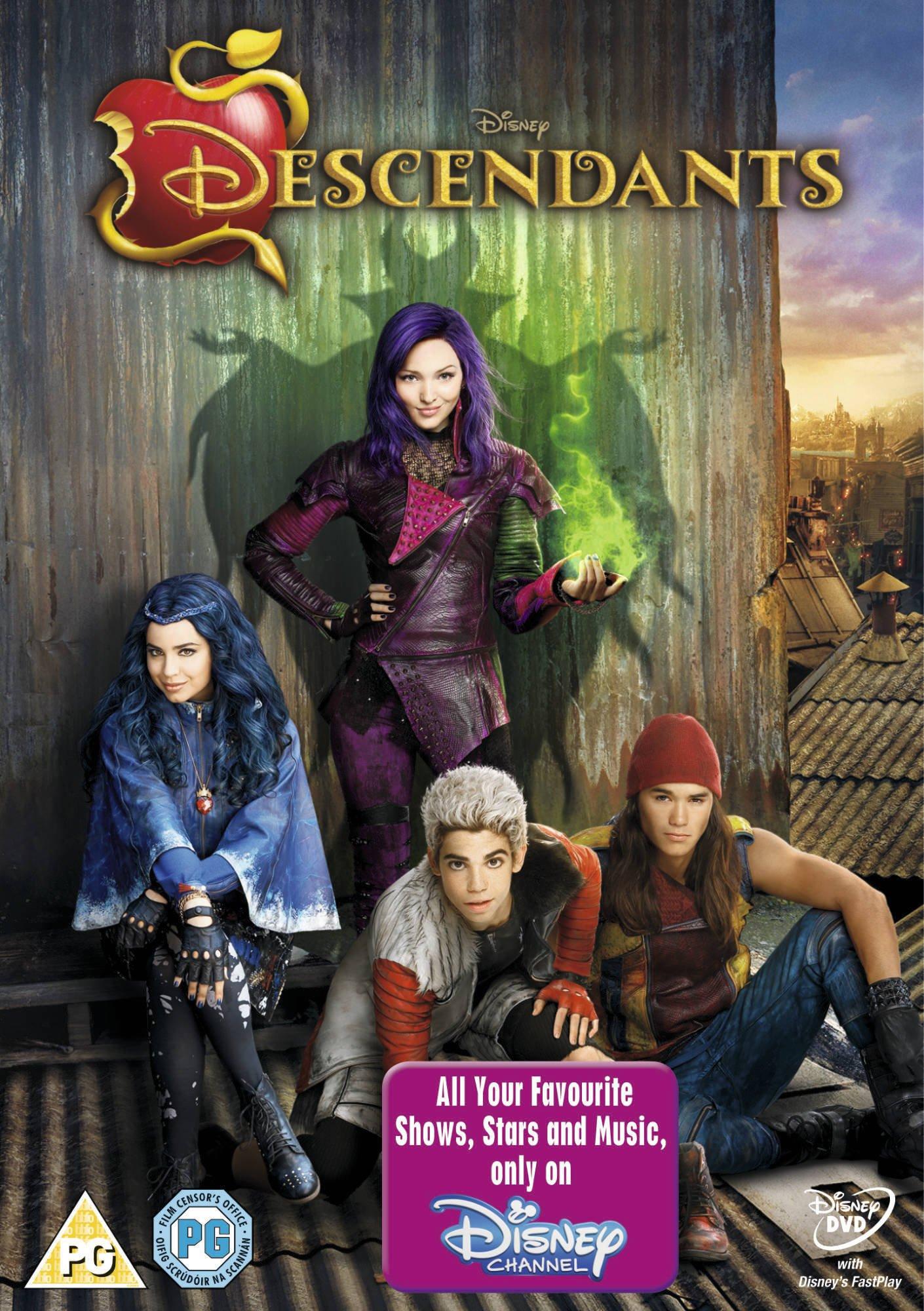 The Descendants Disney Villains DVD 2015