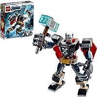 LEGO 76169 Marvel Super Heroes L'Armure Robot de Thor Jeu Figurine avec Thor Miniature