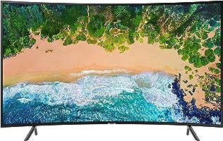سامسونج 55 انش منحني تلفزيون ذكي اسود - NU7300KXZN