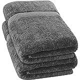 Utopia Towels - 2 Toallas de baño Grandes (90 x 180 cm, Gris)