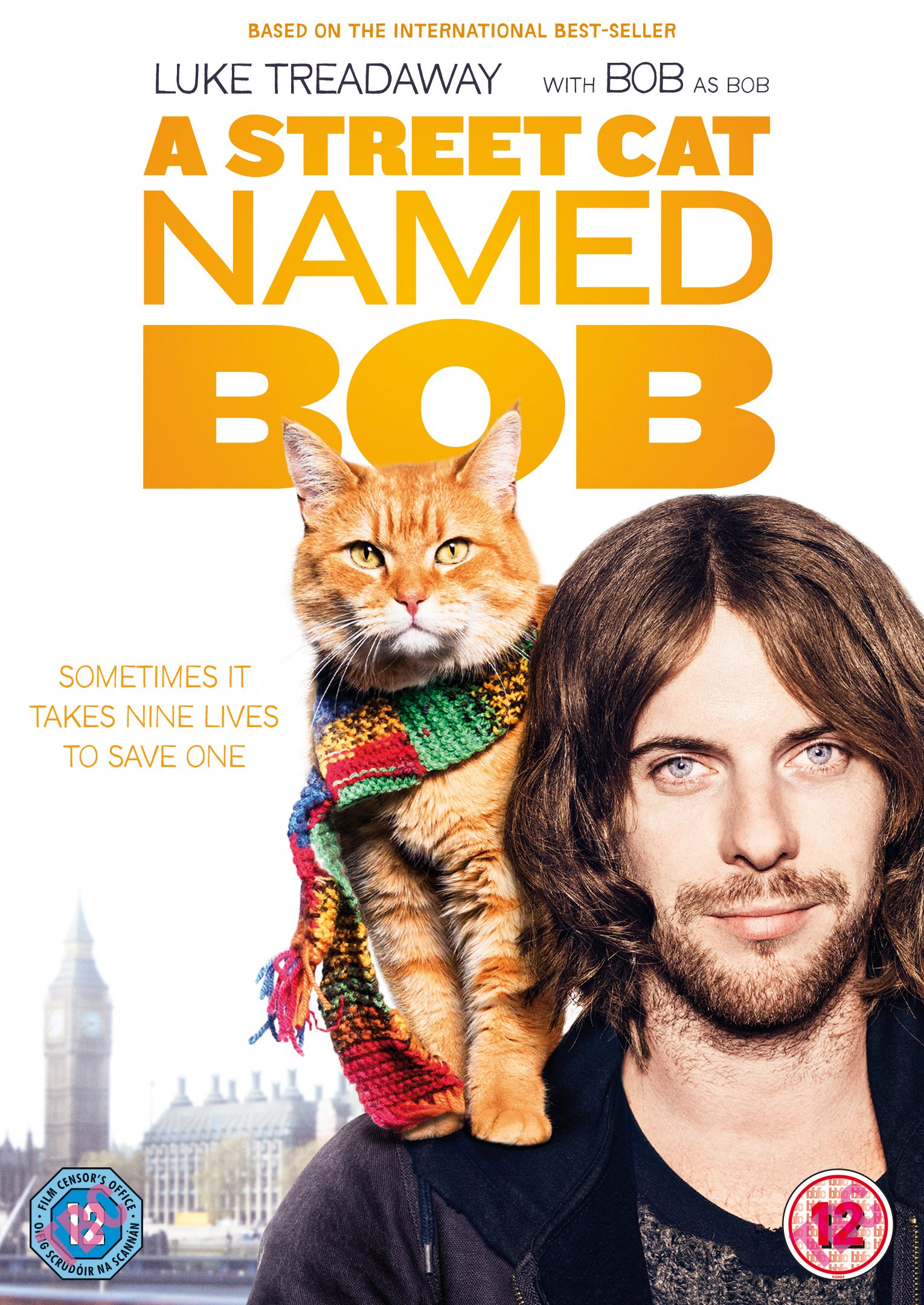 A Street Cat Named Bob DVD