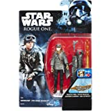 Hasbro Star Wars B7275El2 - Rogue One Battle-Action Basisfiguren - Sergeant Jyn Erso Actionfigur
