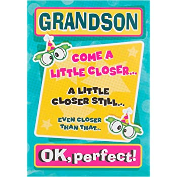 Hallmark Grandson Birthday Card Pop Up