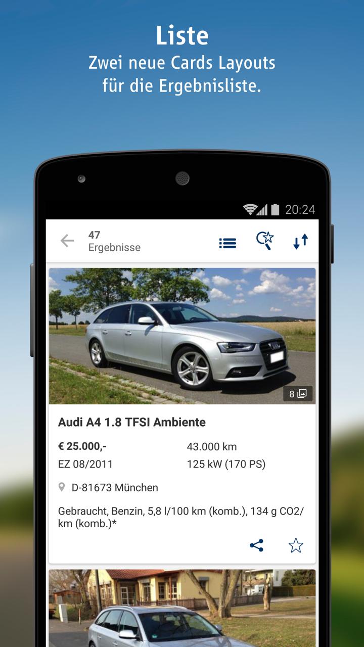 Autoscout24 Mobile Autosuche Amazonde Apps Für Android