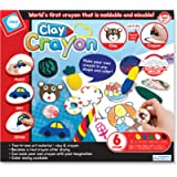 C.S.KIDS CC01 C.S. Kids Magic Crayon | Art and Craft Kit/Children Drawing Supplies (Clay of 6 Colours with Tools and…