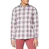 Hackett London Hkt Ecru Plaid Camisa para Hombre