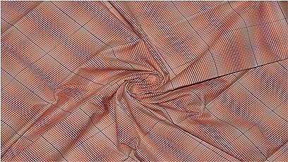 Raymond Men's Premium Cotton Checkered Un-Stitched Shirt Fabric (1.60 MTR_Multi Color_RG2345)