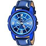 REDUX Analogue Men's Watch (Blue Dial Blue Colored Strap)