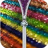 Glitter Zipper Lock Screen 2019