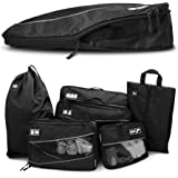 Premium Kompressions-Kleidertaschen I Ultraleichtes 6-teiliges Koffer-Organizer-Set I Platzsparende Packtaschen mit…
