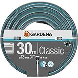 """GARDENA Classic slang 13 mm (1/2""""), 30 m: Universalslang i robust korsväv, sprängtryck 22 bar, tryck- och UV-beständig (18009"""
