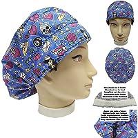 Cappello chirurgico Donna TATUAGGI per Capelli Lunghi Asciugamano assorbente sulla fronte facilmente regolabile medico…